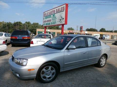 2003 Hyundai Elantra for sale at Nile Auto in Columbus OH