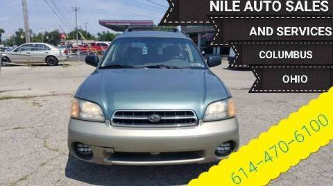2000 Subaru Outback for sale at Nile Auto in Columbus OH