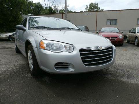 2004 Chrysler Sebring for sale at Nile Auto in Columbus OH