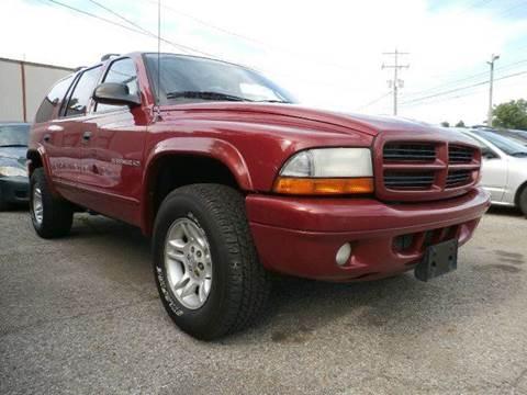 2001 Dodge Durango for sale at Nile Auto in Columbus OH