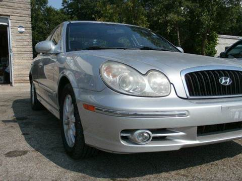 2002 Hyundai Sonata for sale at Nile Auto in Columbus OH