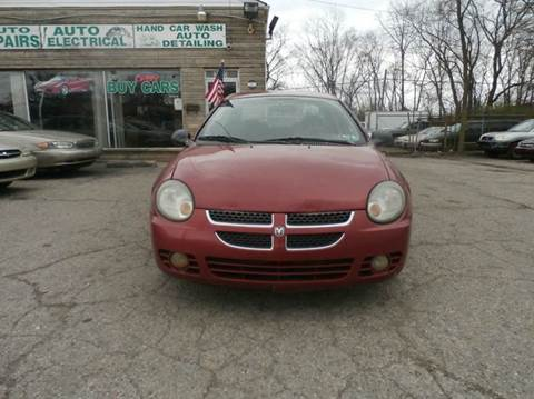 2003 Dodge Neon for sale at Nile Auto in Columbus OH
