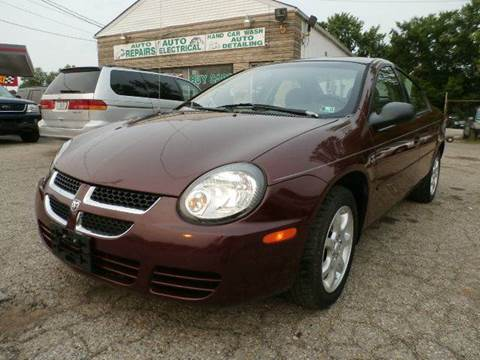 2001 Plymouth Neon for sale at Nile Auto in Columbus OH