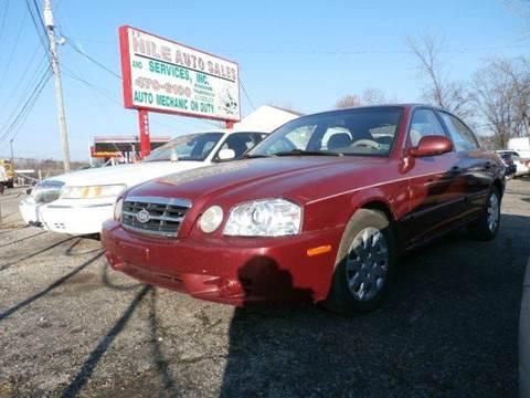 2005 Kia Optima for sale at Nile Auto in Columbus OH