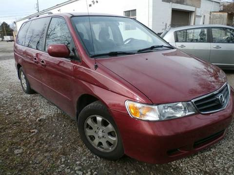 2002 Honda Odyssey for sale at Nile Auto in Columbus OH