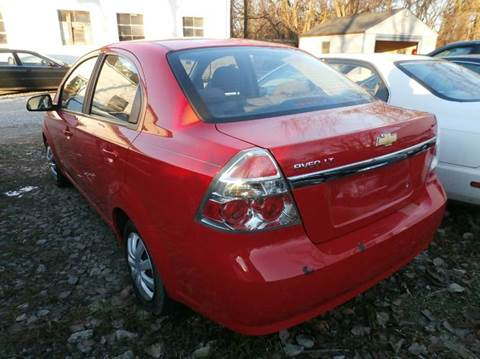 2009 Chevrolet Aveo for sale at Nile Auto in Columbus OH