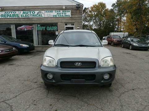 2003 Hyundai Santa Fe for sale at Nile Auto in Columbus OH