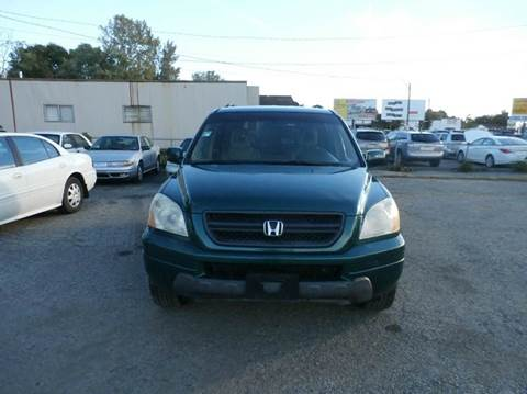 2003 Honda Pilot for sale at Nile Auto in Columbus OH