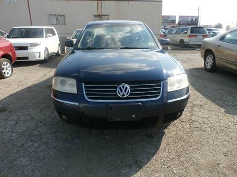 2002 Volkswagen Passat for sale at Nile Auto in Columbus OH