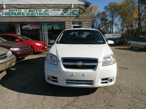 2011 Chevrolet Aveo for sale at Nile Auto in Columbus OH
