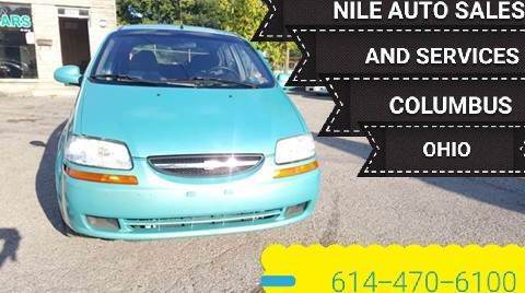 2005 Chevrolet Aveo for sale at Nile Auto in Columbus OH