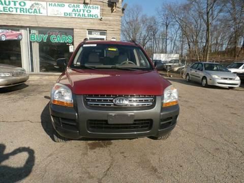 2007 Kia Sportage for sale at Nile Auto in Columbus OH