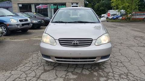 2003 Toyota Corolla for sale at Nile Auto in Columbus OH
