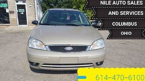 2006 Ford Focus for sale at Nile Auto in Columbus OH