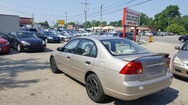 2001 Honda Civic LX 4dr Sedan   Columbus OH