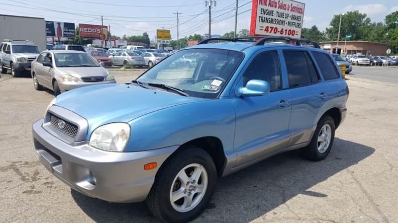 2004 Hyundai Santa Fe GLS AWD 4dr SUV   Columbus OH