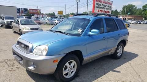 2004 Hyundai Santa Fe for sale at Nile Auto in Columbus OH