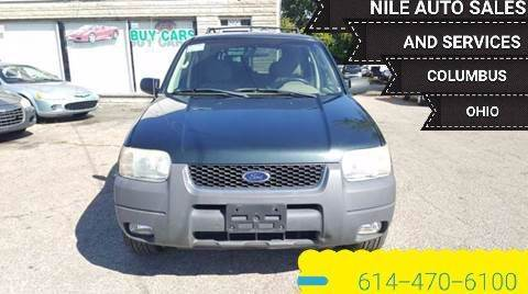 2004 Ford Escape for sale at Nile Auto in Columbus OH