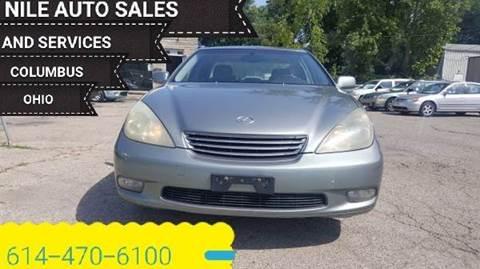 2004 Lexus ES 330 for sale at Nile Auto in Columbus OH