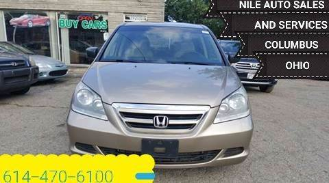 2006 Honda Odyssey for sale at Nile Auto in Columbus OH