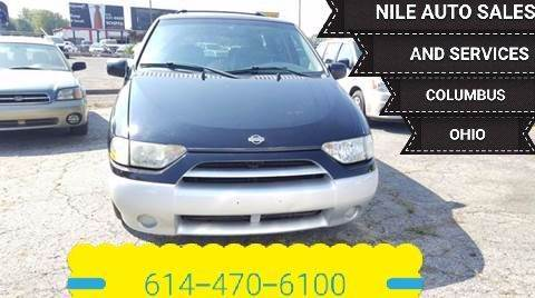 2001 Nissan Quest for sale at Nile Auto in Columbus OH