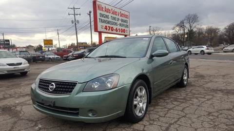 2005 Nissan Altima for sale at Nile Auto in Columbus OH