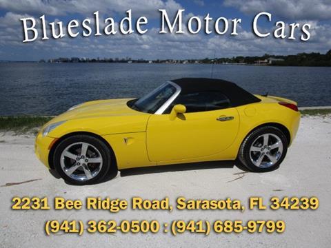 2007 Pontiac Solstice for sale in Sarasota, FL