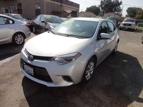 2015 Toyota Corolla for sale in Modesto, CA