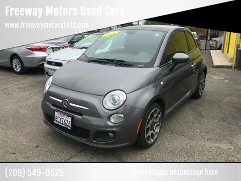 2012 FIAT 500 for sale in Modesto, CA