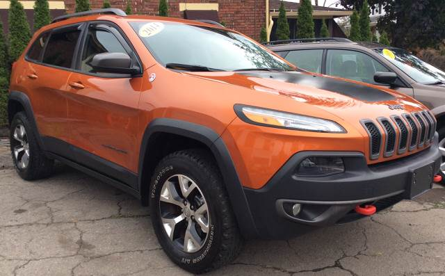 2014 Jeep Cherokee 4x4 Trailhawk 4dr Suv In Johnstown Pa Babo's
