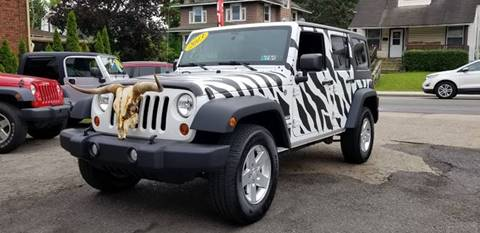 2013 Jeep Wrangler Unlimited for sale in Johnstown, PA