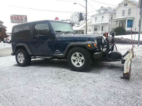 2004 jeep wrangler for sale in johnstown pa. Black Bedroom Furniture Sets. Home Design Ideas
