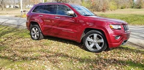 2015 Jeep Grand Cherokee Overland for sale at BABO'S MOTORS INC in Johnstown PA