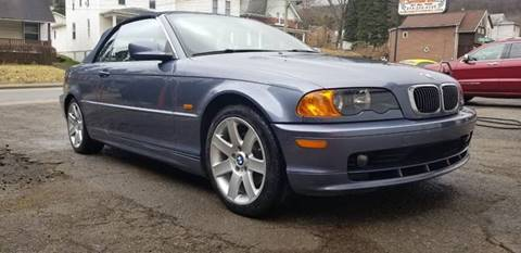 2000 BMW 3 Series 323Ci for sale at BABO'S MOTORS INC in Johnstown PA