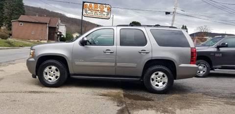 2012 Chevrolet Tahoe LT for sale at BABO'S MOTORS INC in Johnstown PA