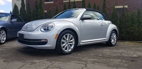 2015 Volkswagen Beetle Convertible TDI for sale at BABO'S MOTORS INC in Johnstown PA