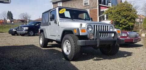 2006 Jeep Wrangler Unlimited for sale at BABO'S MOTORS INC in Johnstown PA