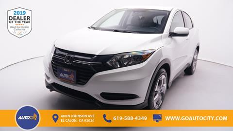 2018 Honda HR-V for sale in El Cajon, CA