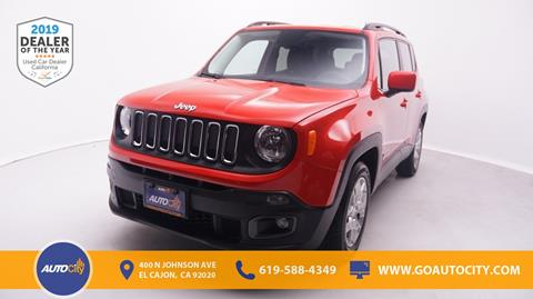 2017 Jeep Renegade for sale in El Cajon, CA