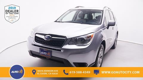 El Cajon Subaru >> 2016 Subaru Forester For Sale In El Cajon Ca