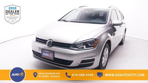 2016 Volkswagen Golf SportWagen for sale in El Cajon, CA