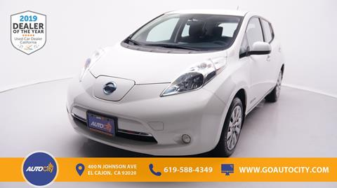2016 Nissan LEAF for sale in El Cajon, CA