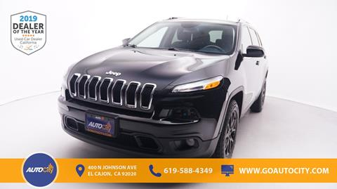 2015 Jeep Cherokee for sale in El Cajon, CA