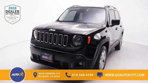 2015 Jeep Renegade for sale in El Cajon, CA