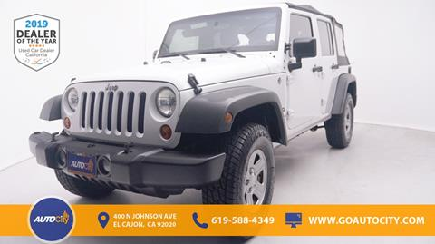 2011 Jeep Wrangler Unlimited for sale in El Cajon, CA