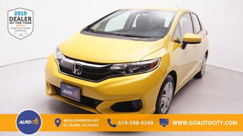 2018 Honda Fit for sale in El Cajon, CA