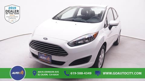 2019 Ford Fiesta for sale in El Cajon, CA
