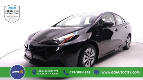 2018 Toyota Prius for sale in El Cajon, CA