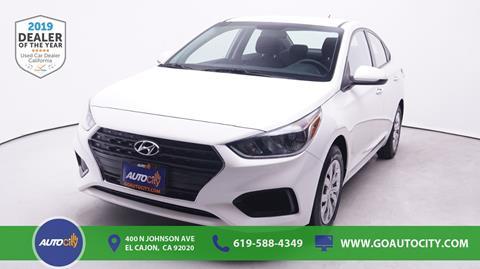 2018 Hyundai Accent for sale in El Cajon, CA