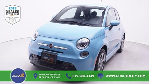 2016 FIAT 500e for sale in El Cajon, CA